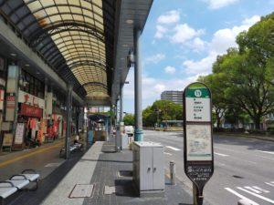近鉄四日市駅11番バス停
